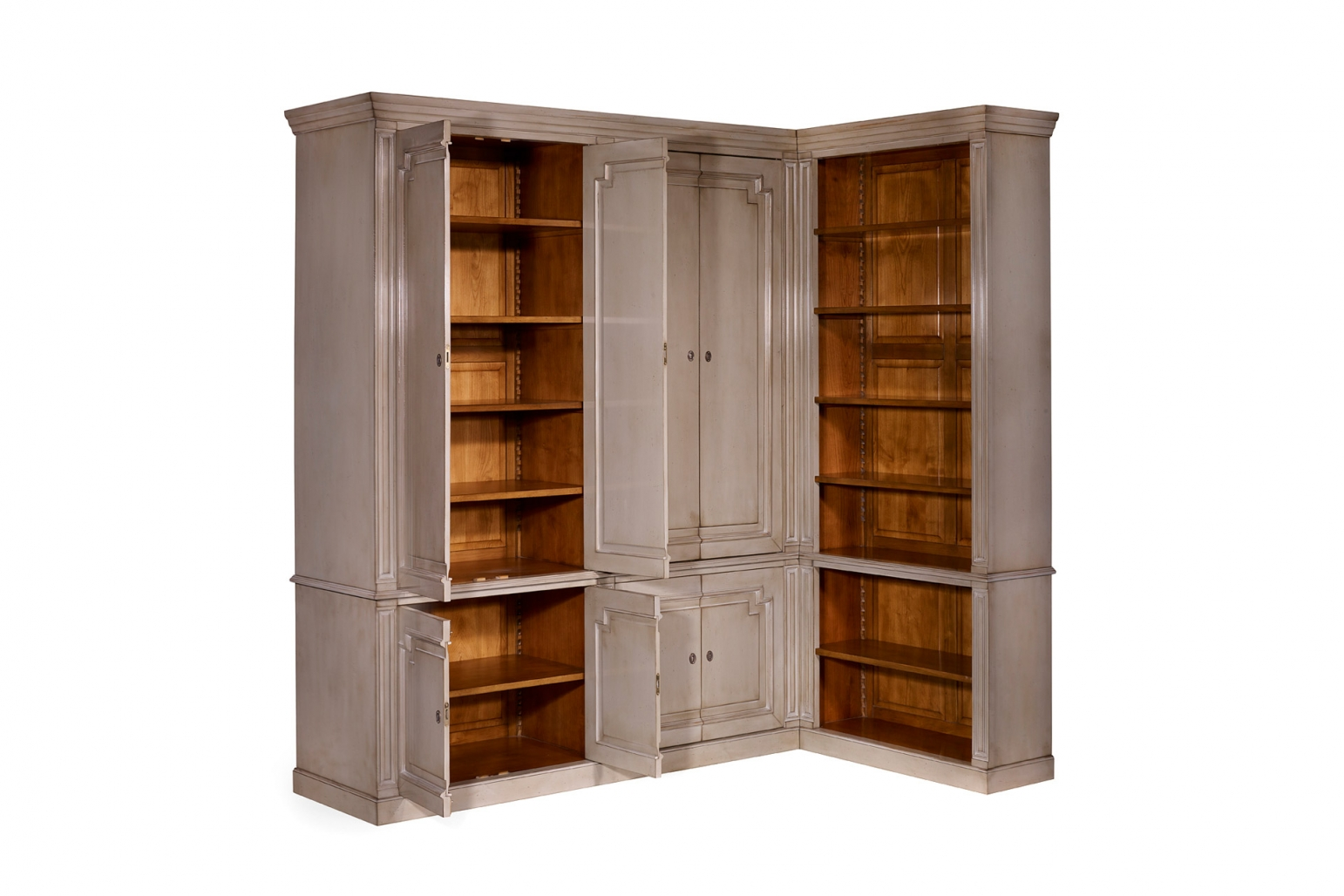 French L Shaped Cabinet Bookcases Amp Cabinets