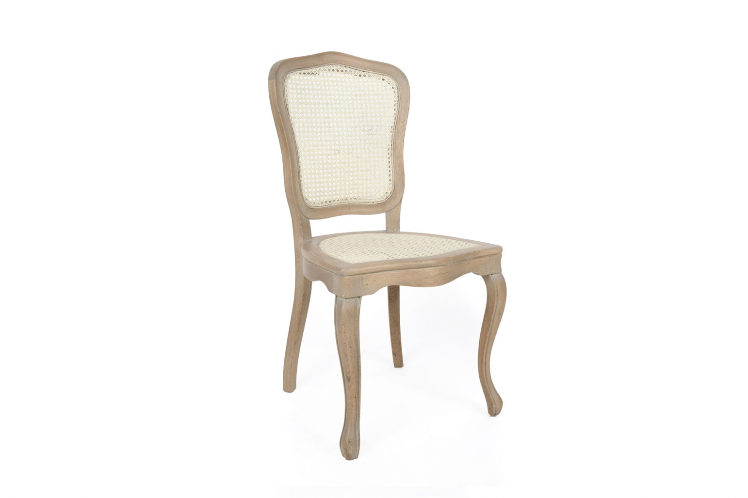 Caned French Dining Chairs Oak Wood Vidal Dining Chairs