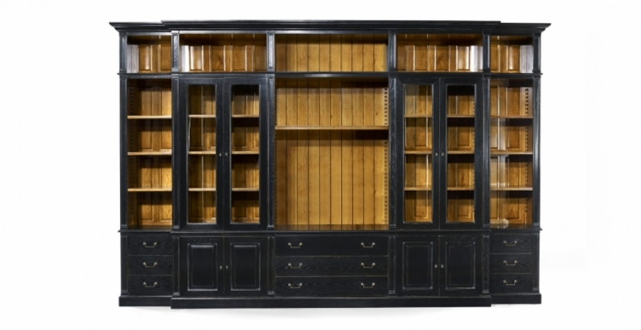French Wooden Bookcase